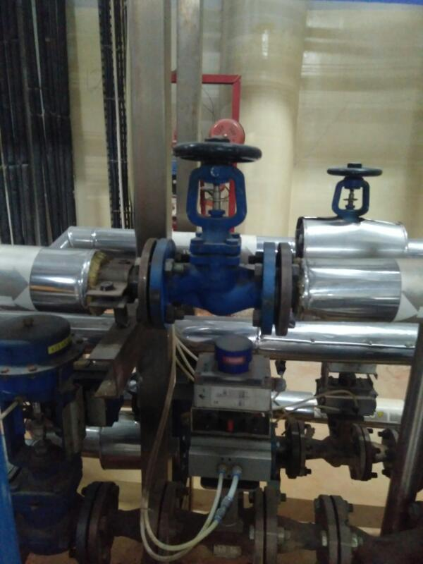Install Piping Steam System
